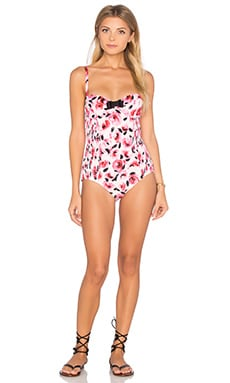 Bay of Roses Underwire One Piece