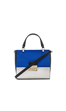kate spade new york Bennett Handbag in Island Deep, Bright White & Black