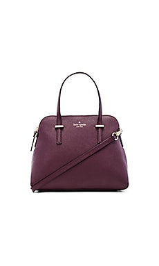 kate spade new york Maise Satchel in Mulled Wine