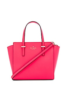 kate spade new york Small Hayden Satchel in Flo Geranium