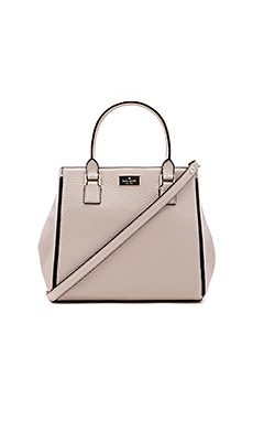 kate spade new york Maddie Satchel in Crisp Linen