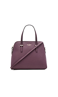 Maise Satchel in Mahogany