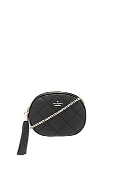 Tinley Crossbody in Black & Smokey Rose
