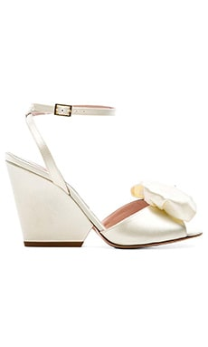 kate spade new york Iberis Heel in Ivory Satin