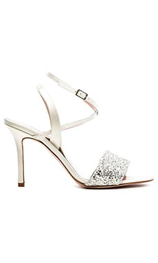 kate spade new york Ismar Heel in Silver Grey Glitter