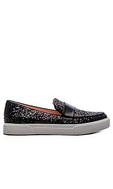 kate spade new york Clove Sneaker in Black Glitter