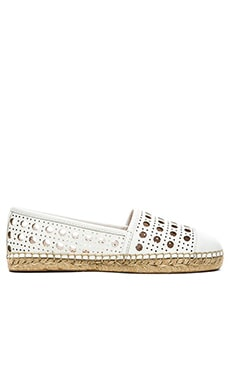 kate spade new york Leonia Flat in White Calf