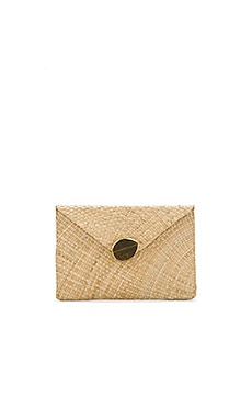 Capri Clutch in Natural