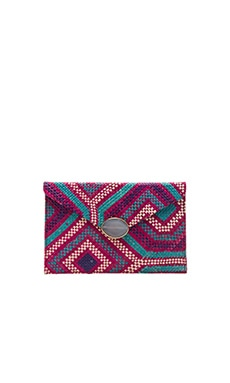Saguaro Clutch in Pink