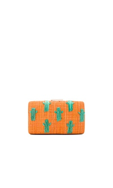 Cactus Clutch in Orange