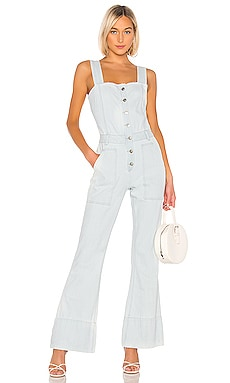 Fashion Denim Jumpsuit KENDALL + KYLIE $97