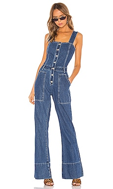 Fashion Denim Jumpsuit KENDALL + KYLIE $149