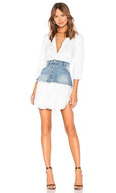 Oversized Poplin Shirt Dress KENDALL + KYLIE $138