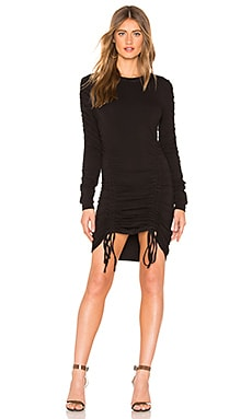 060a867695 Crew Neck Ruched Dress KENDALL + KYLIE  71 ...