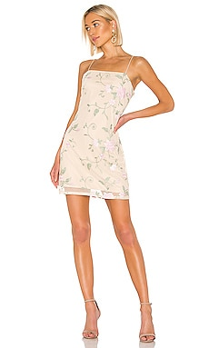X REVOLVE Embroidered Mini Dress KENDALL + KYLIE $58