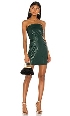 Cobain Vegan Leather Dress KENDALL + KYLIE $79