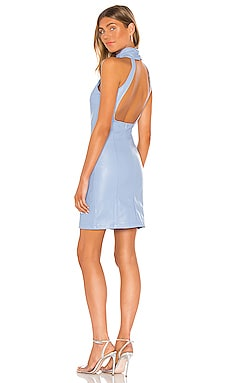 Ruching Neck Backless Dress KENDALL + KYLIE $91