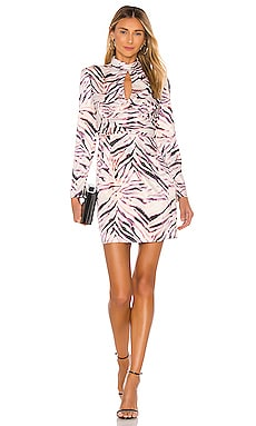Shirred Neck Keyhole Dress KENDALL + KYLIE $55