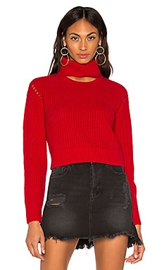 Open Neck Crew Sweater KENDALL + KYLIE $83