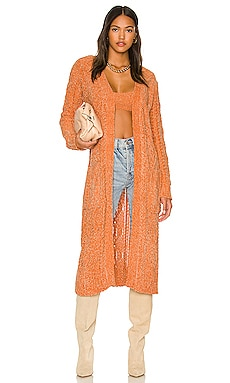 Cable Knit Duster KENDALL + KYLIE $89