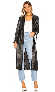 Leather Duster Jacket KENDALL + KYLIE $158