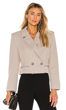 Double Breasted Cropped Blazer KENDALL + KYLIE $89