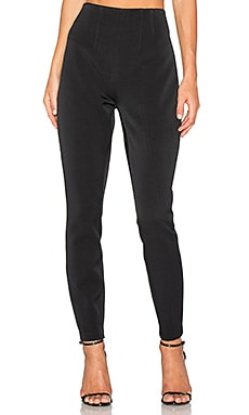 High Waist Tuxedo Pant in Black