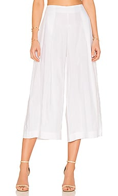 Shadow Stripe Pant in Bright White