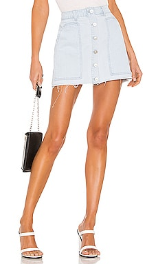 Fashion Denim Mini Skirt KENDALL + KYLIE $49