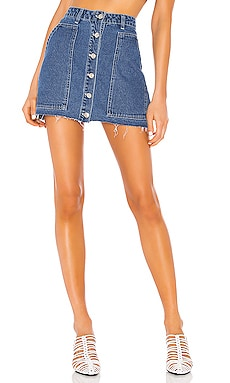 Fashion Denim Mini Skirt KENDALL + KYLIE $79