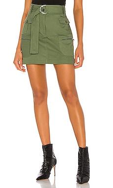 Farrah Twill Skirt KENDALL + KYLIE $69