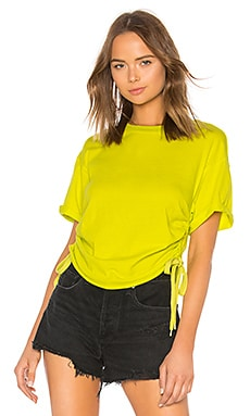 Ruched Tie Side Tee KENDALL + KYLIE $47