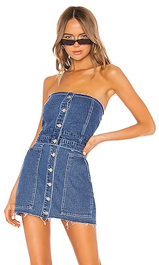 Fashion Denim Bustier KENDALL + KYLIE $69