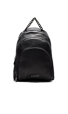 KENDALL + KYLIE Sloane Backpack in Black Pebble Leather