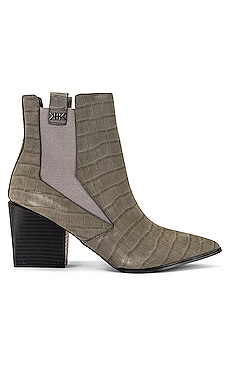 Finigan Croco Embossed Bootie KENDALL + KYLIE $86