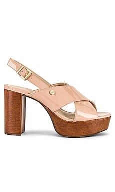 Shian Patent Sandal KENDALL + KYLIE $125 NEW