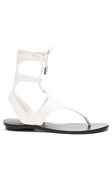 Faris Sandal in White