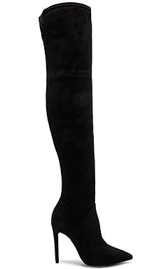 Ayla 2 Boot in Black Suede