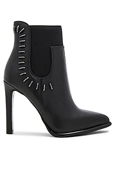 Cassidy Bootie in Black & Black
