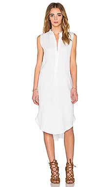 KES Open Back Maxi Dress in White