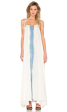 KES Strings Organic Maxi Dress in Indigofera