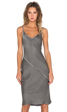KES Bias Slip Dress in Graphite