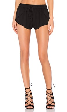 Seamless Double Crepe Shorts