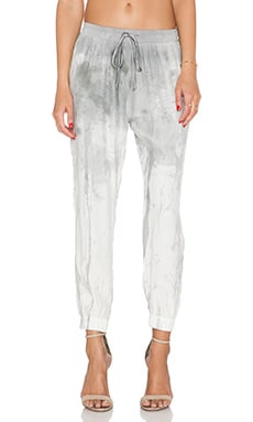 KES Silk Pajama Pant in Collaboration Print