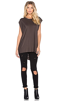 KES Sleeveless Tee in Mud
