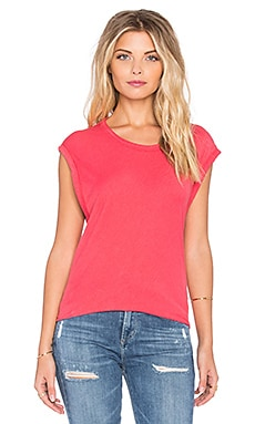KES Sleeveless Tee in Fire