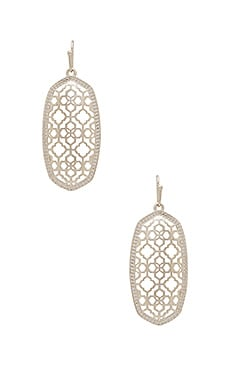 Elle Earring in Rhodium