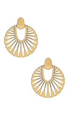 Didi Sunburst Drop Earrings Kendra Scott $88