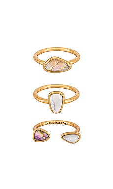Ivy Ring Set Of 3 Kendra Scott $98 NEW
