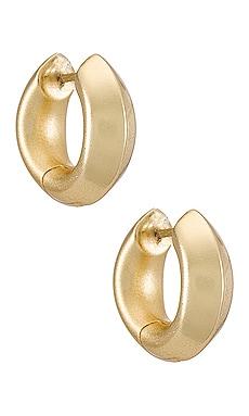 Mikki Metal Huggie Earring Kendra Scott $48